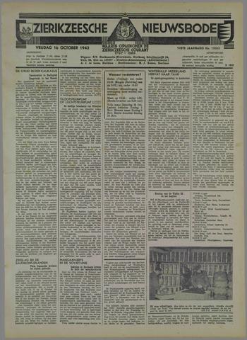 Zierikzeesche Nieuwsbode 1942-10-16