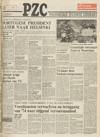 Provinciale Zeeuwse Courant 1975-07-29