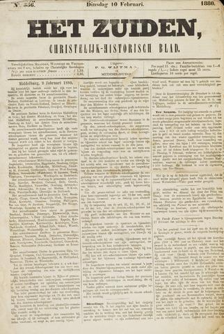 Het Zuiden, Christelijk-historisch blad 1880-02-10