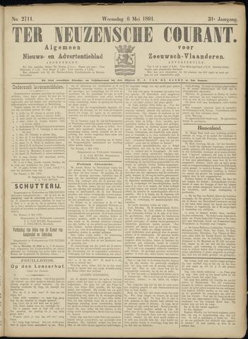 Ter Neuzensche Courant. Algemeen Nieuws- en Advertentieblad voor Zeeuwsch-Vlaanderen / Neuzensche Courant ... (idem) / (Algemeen) nieuws en advertentieblad voor Zeeuwsch-Vlaanderen 1891-05-06