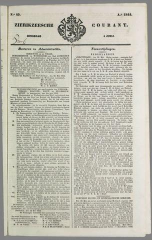 Zierikzeesche Courant 1844-06-04