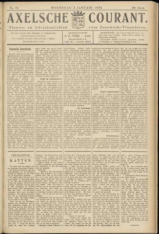 Axelsche Courant 1934-01-03