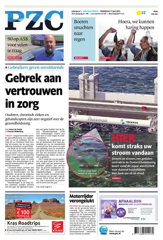 Provinciale Zeeuwse Courant 2015-06-17