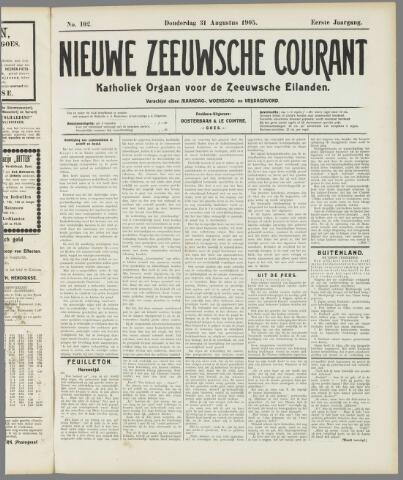 Nieuwe Zeeuwsche Courant 1905-08-31