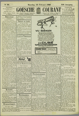 Goessche Courant 1929-02-18