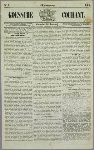 Goessche Courant 1859-01-31