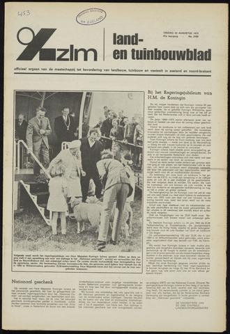 Zeeuwsch landbouwblad ... ZLM land- en tuinbouwblad 1973-08-31