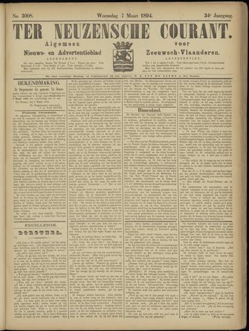 Ter Neuzensche Courant. Algemeen Nieuws- en Advertentieblad voor Zeeuwsch-Vlaanderen / Neuzensche Courant ... (idem) / (Algemeen) nieuws en advertentieblad voor Zeeuwsch-Vlaanderen 1894-03-07