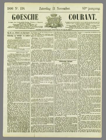 Goessche Courant 1896-11-21