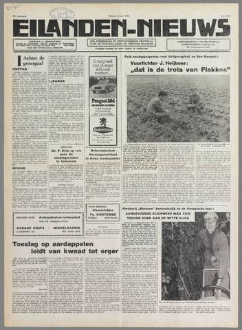 Eilanden-nieuws. Christelijk streekblad op gereformeerde grondslag 1976-05-14
