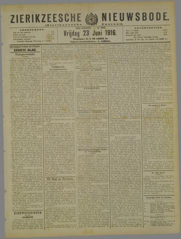 Zierikzeesche Nieuwsbode 1916-06-23