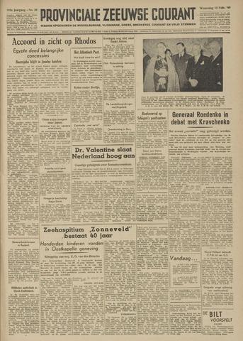 Provinciale Zeeuwse Courant 1949-02-16