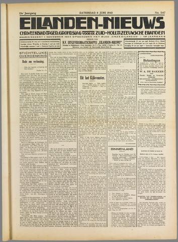 Eilanden-nieuws. Christelijk streekblad op gereformeerde grondslag 1940-06-08