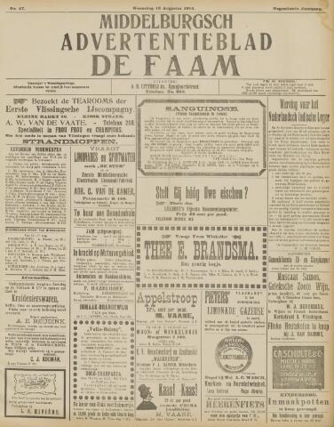 de Faam en de Faam/de Vlissinger 1915-08-18