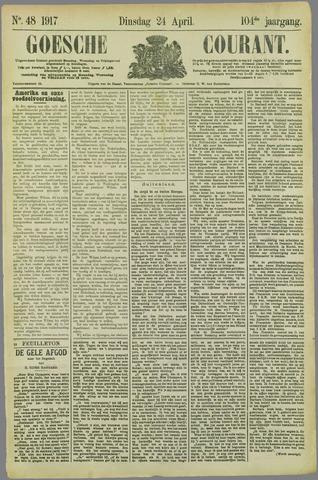 Goessche Courant 1917-04-24