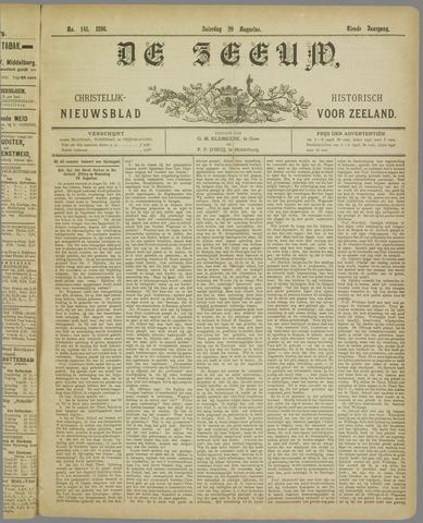 De Zeeuw. Christelijk-historisch nieuwsblad voor Zeeland 1896-08-29