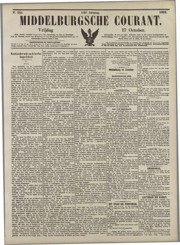 Middelburgsche Courant 1902-10-17