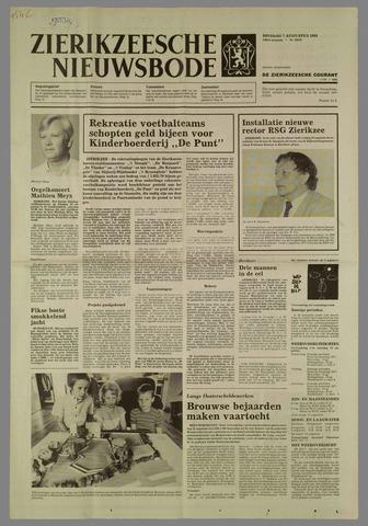 Zierikzeesche Nieuwsbode 1984-08-07