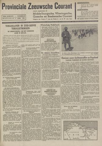 Provinciale Zeeuwse Courant 1941-04-09