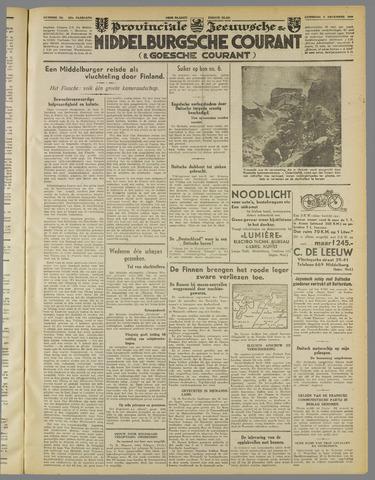Middelburgsche Courant 1939-12-09