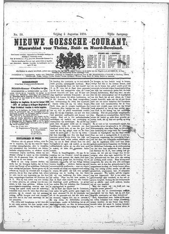 Nieuwe Goessche Courant 1870-08-05