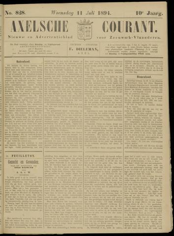 Axelsche Courant 1894-07-11