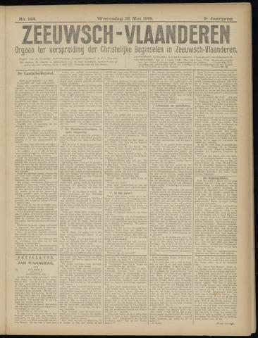 Luctor et Emergo. Antirevolutionair nieuws- en advertentieblad voor Zeeland / Zeeuwsch-Vlaanderen. Orgaan ter verspreiding van de christelijke beginselen in Zeeuwsch-Vlaanderen 1919-05-28