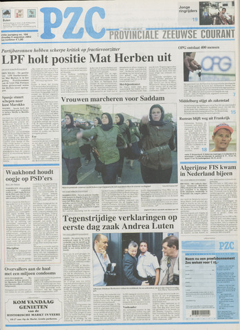 Provinciale Zeeuwse Courant 2002-08-06