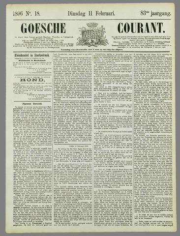 Goessche Courant 1896-02-11