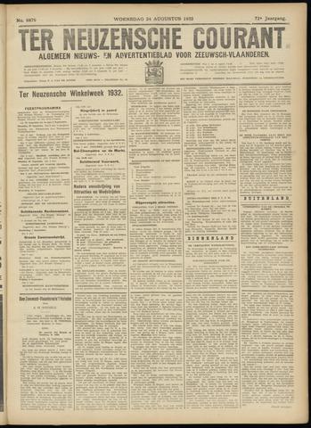 Ter Neuzensche Courant. Algemeen Nieuws- en Advertentieblad voor Zeeuwsch-Vlaanderen / Neuzensche Courant ... (idem) / (Algemeen) nieuws en advertentieblad voor Zeeuwsch-Vlaanderen 1932-08-24