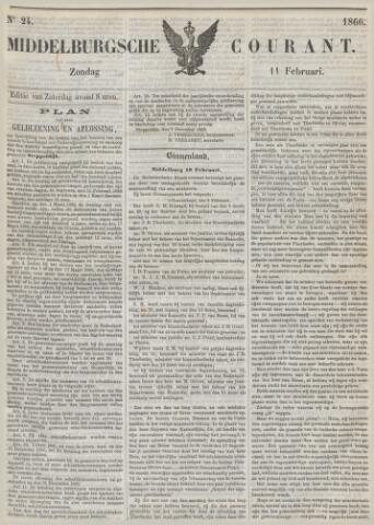 Middelburgsche Courant 1866-02-11