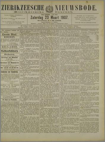 Zierikzeesche Nieuwsbode 1907-03-23