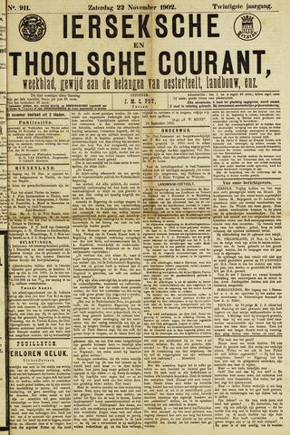 Ierseksche en Thoolsche Courant 1902-11-22