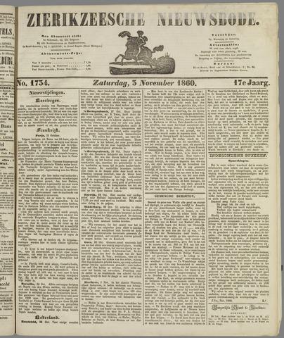 Zierikzeesche Nieuwsbode 1860-11-03
