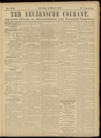 Ter Neuzensche Courant. Algemeen Nieuws- en Advertentieblad voor Zeeuwsch-Vlaanderen / Neuzensche Courant ... (idem) / (Algemeen) nieuws en advertentieblad voor Zeeuwsch-Vlaanderen 1919-03-15