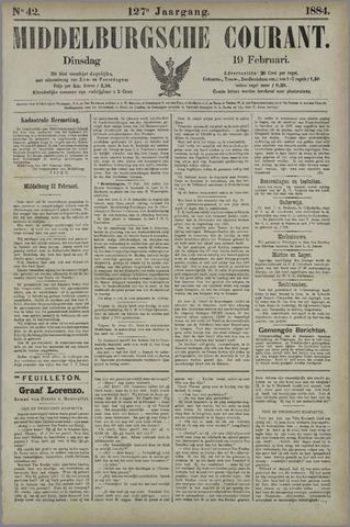 Middelburgsche Courant 1884-02-19
