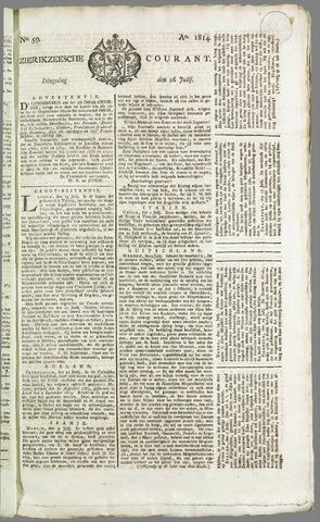Zierikzeesche Courant 1814-07-26