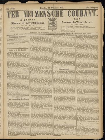 Ter Neuzensche Courant. Algemeen Nieuws- en Advertentieblad voor Zeeuwsch-Vlaanderen / Neuzensche Courant ... (idem) / (Algemeen) nieuws en advertentieblad voor Zeeuwsch-Vlaanderen 1899-10-31