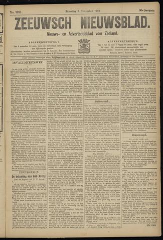 Ter Neuzensch Volksblad. Vrijzinnig nieuws- en advertentieblad voor Zeeuwsch- Vlaanderen / Zeeuwsch Nieuwsblad. Nieuws- en advertentieblad voor Zeeland 1919-11-08