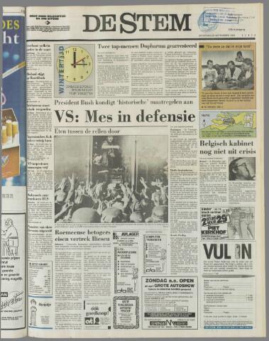 de Stem 1991-09-28