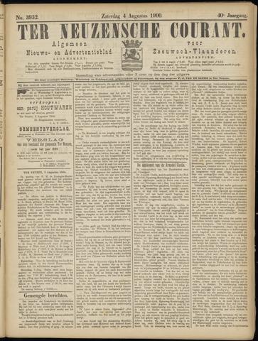 Ter Neuzensche Courant. Algemeen Nieuws- en Advertentieblad voor Zeeuwsch-Vlaanderen / Neuzensche Courant ... (idem) / (Algemeen) nieuws en advertentieblad voor Zeeuwsch-Vlaanderen 1900-08-04