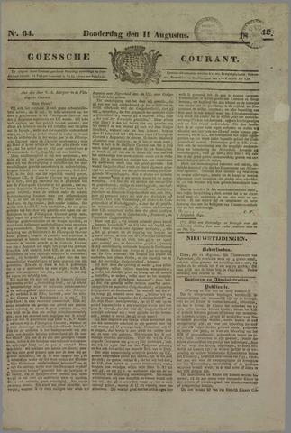 Goessche Courant 1842-08-11