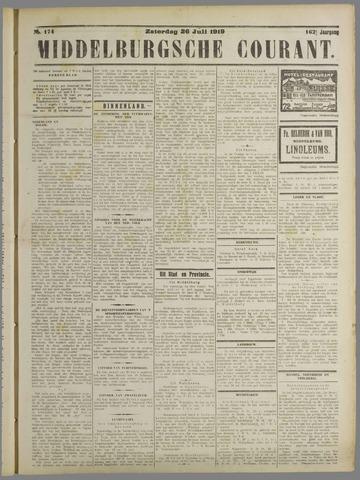Middelburgsche Courant 1919-07-26