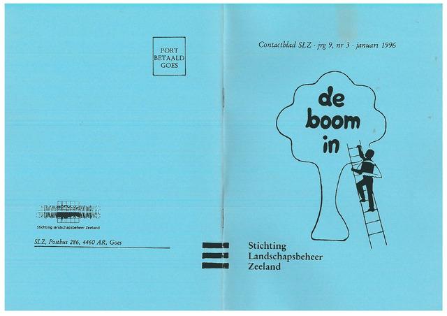 Landschapsbeheer Zeeland - de Boom in 1996-01-01