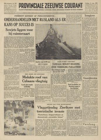 Provinciale Zeeuwse Courant 1961-08-11