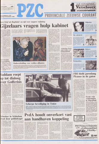 Provinciale Zeeuwse Courant 1990-11-12
