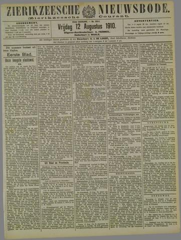Zierikzeesche Nieuwsbode 1910-08-12