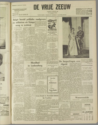 de Vrije Zeeuw 1961-03-03