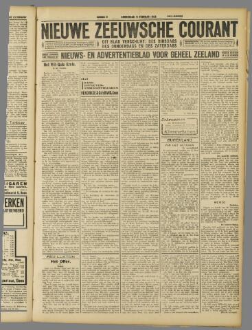 Nieuwe Zeeuwsche Courant 1929-02-14