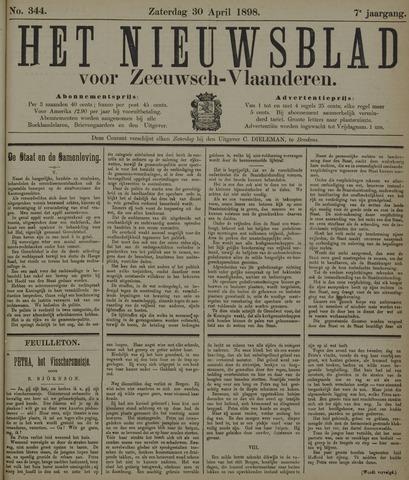 Nieuwsblad voor Zeeuwsch-Vlaanderen 1898-04-30